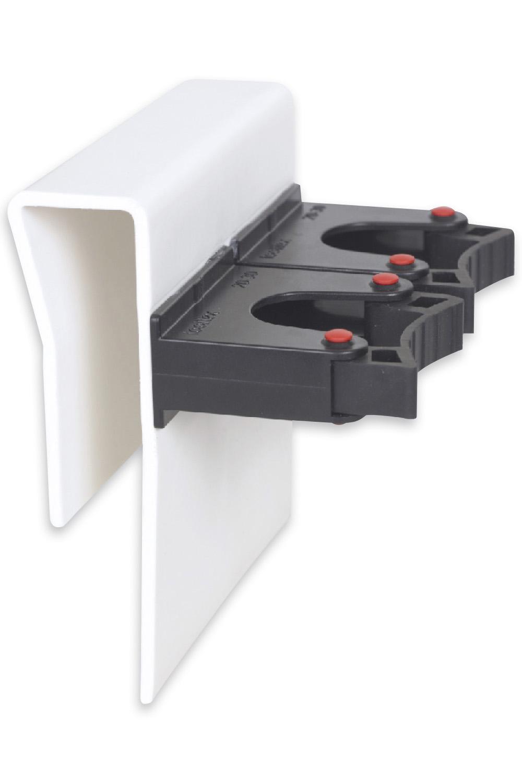 Duo Klemmprofil Halterung 20-30 mm • Stockkontor